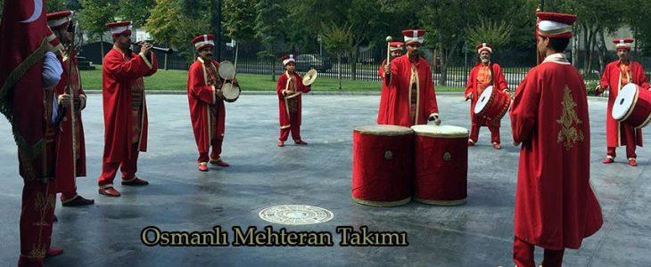 istanbul mehter takımı gösterisi