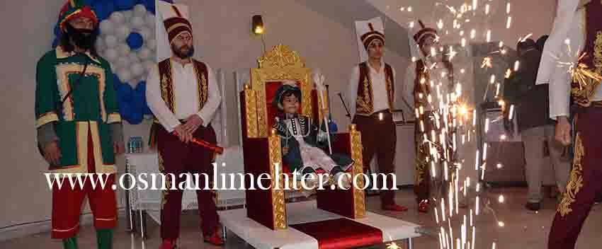 Sünnet Tahtı Ve Sünnet Koltuğu Yeniçeri Askeri Kiralama