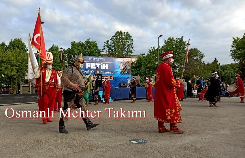 Nevşehir mehter ekibi fetih programı